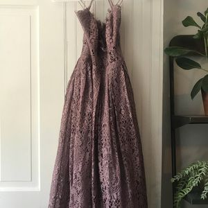 ASOS Petite Lace Cami Midi Dress